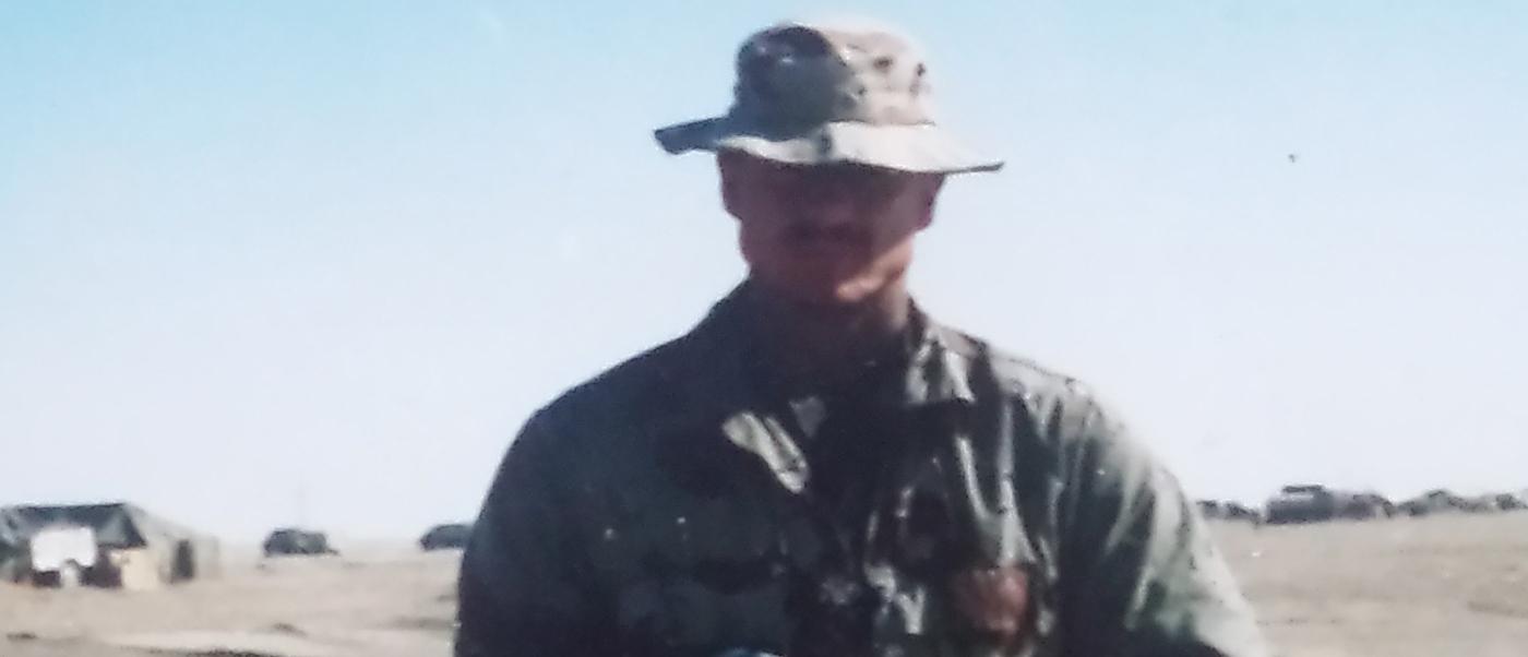 U.S. Marine Cpl. Stickney