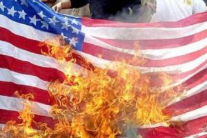 U.S. Flag Burning