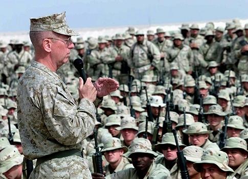 "U.S.M.C. General James ""Mad Dog"" Mattis"