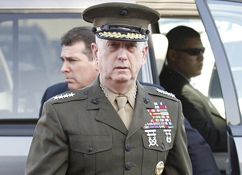 "U.S.M.C General ""Mad Dog"" Mattis"