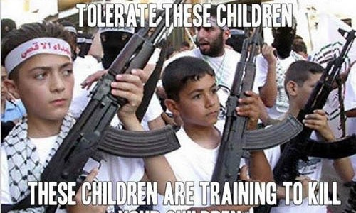Muslim extremist children