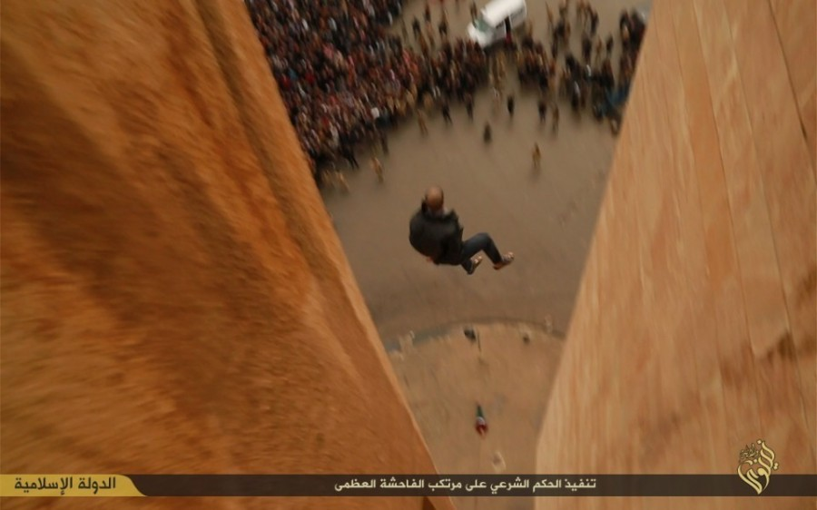 Muslims Execute Gays by Throwing Them From Tall Buildings, Photo: vice.com