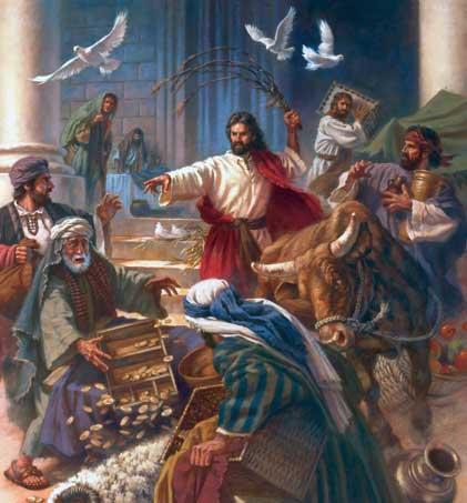 Jesus Cleanses Temple